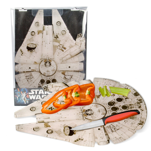 Star Wars Cutting Board - Millennium Falcon Acrylic Chopping Board (15
