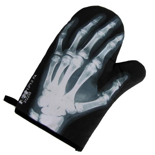 Skeleton Hand Bones Oven Mitt