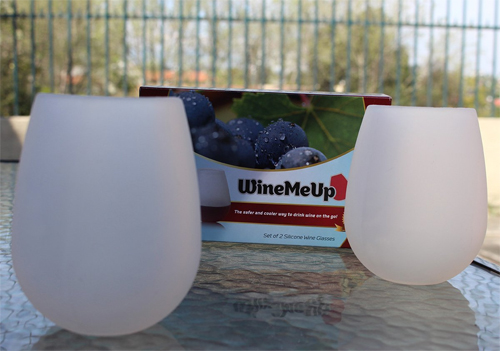 WineMeUp Unbreakable Silicone Wine Glasses