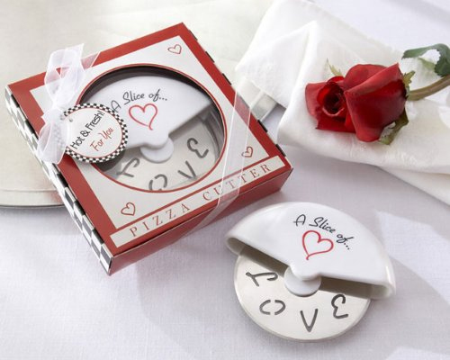 Love Pizza Cutter Valentine's Day Slice of Love